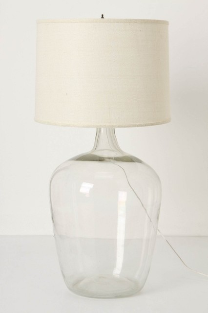 Found Decanter Lamp contemporary-table-lamps