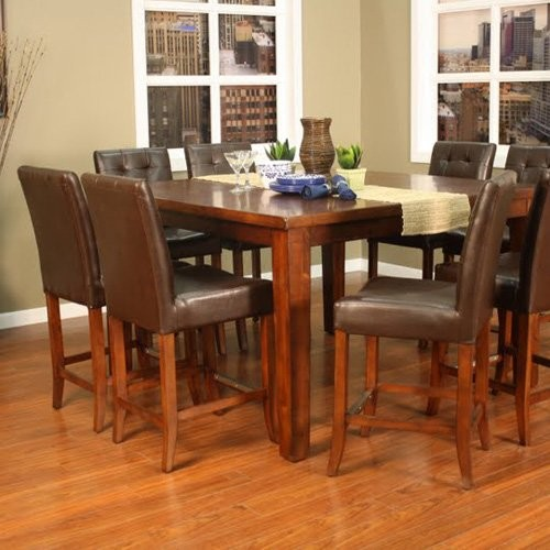 Norwalk 5pc Contemporary Wooden Dining Table Set In  : contemporary dining tables from mattressessale.eu size 500 x 500 jpeg 60kB
