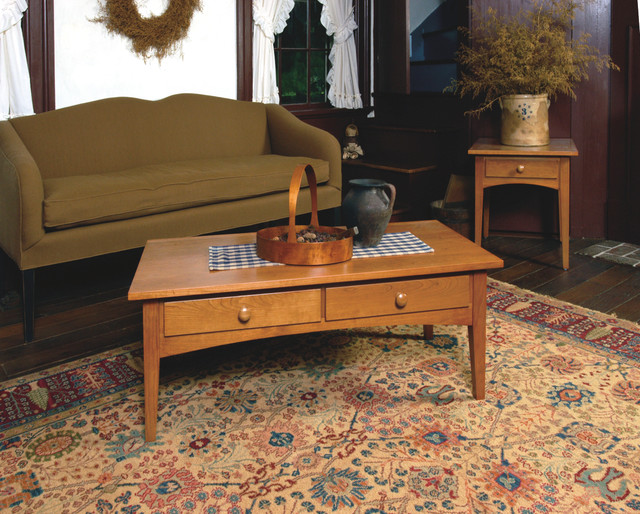 Shaker Style Cherry Living Room Furniture Craftsman