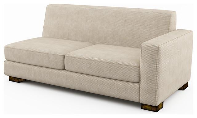 """Brenem 69"""" Armright (Custom) modern-sectional-sofas"""
