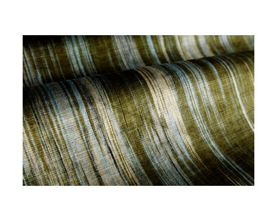 Orizzonti Upholstery in Forest Multicolor - Orizzonti Upholstery in Forest Multicolor Velvet Designer Upholstery Fabric Blue Green streaks. Luxurious viscose fabric ideal for reupholstering furniture, drapery, bedding, or pillows.