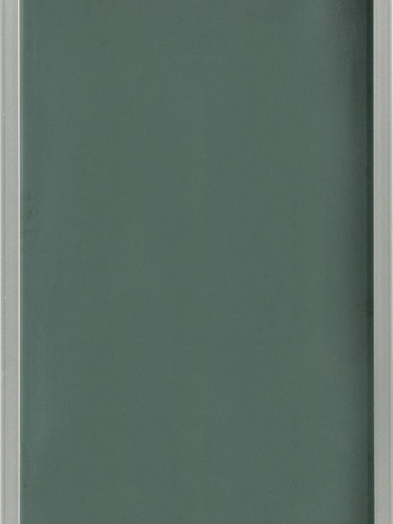 "Dura Supreme Cabinetry - Dura Supreme Cabinetry Aluminum Frame #1 Cabinet Door Style - Dura Supreme Cabinetry ""Aluminum Frame #1"" cabinet door style shown with a Satin Glass insert."