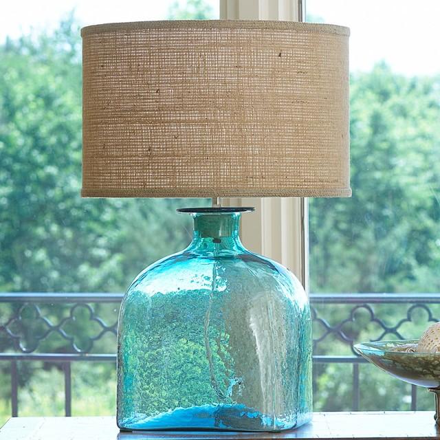 Apothecary Glass Jug Table Lamp 4 Colors Lamp Shades