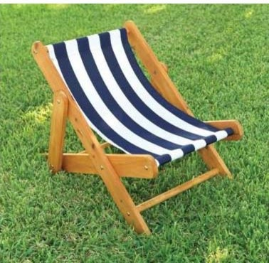 KidKraft Outdoor Sling Chair Contemporary Kids Chairs