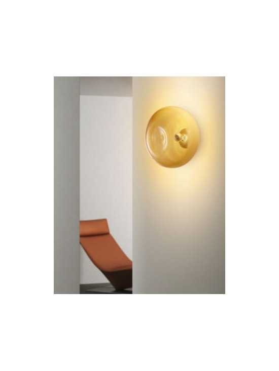 Ombre P Wall Lamp \ Sconce By Leucos Lighting - Ombre PP35 and PP45 by Leucos is a series of wall and ceiling lights.