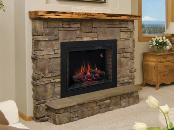 Classicflame 33 Inch Spectrafire Fireplace Insert Flush Mount Conversion Kit Contemporary