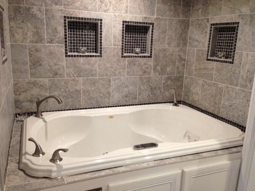 Pls Help Large Gap Between Tub And Tile Deck
