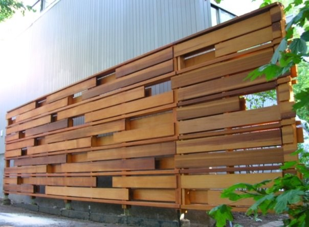 Cloture 102 contemporary home fencing and gates los for Buy reclaimed wood los angeles