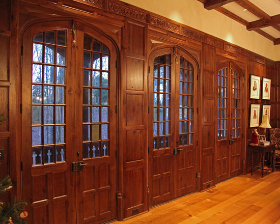 Custom English doors & paneling -