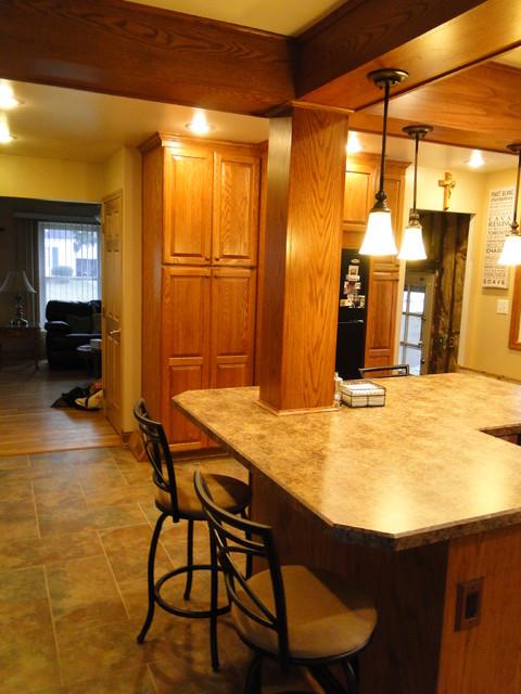 After - Middleburg Hts. Remodel traditional-kitchen
