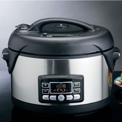 Deni 9760 6.5 Quart Stainless Steel Electric Pressure Cooker modern-gas-ranges-and-electric-ranges