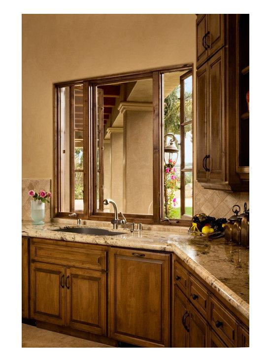 Beautiful Custom Wood Kitchen Casment Windows -