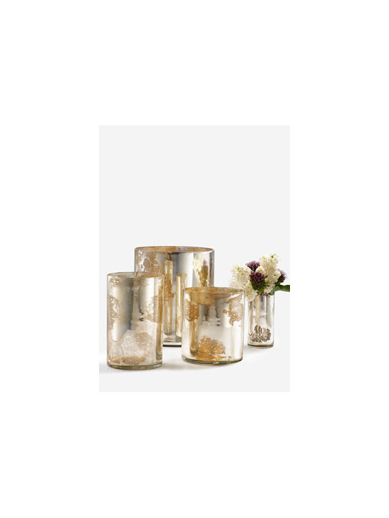 Antique Silver Cylinders -
