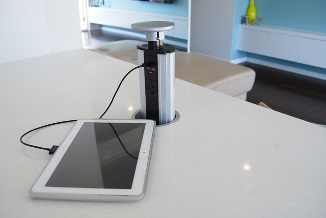 Review Pop Up Power Kitchen Island Electrical Sockets