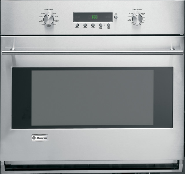 GE Monogram European style single wall oven traditional-ovens