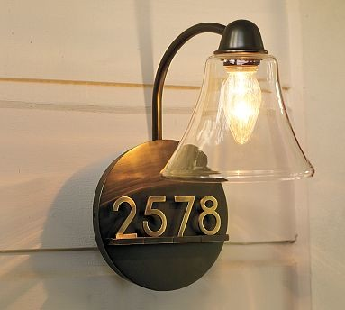 Mayfair Sconce traditional-house-numbers