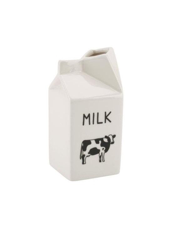 Ceramic Milk Carton -