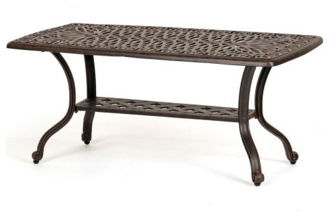 Caluco Florence Patio Coffee Table traditional-outdoor-dining-tables