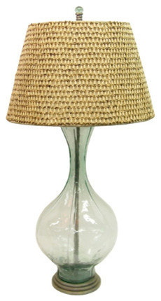 Palecek Glass Float Lamp contemporary-table-lamps