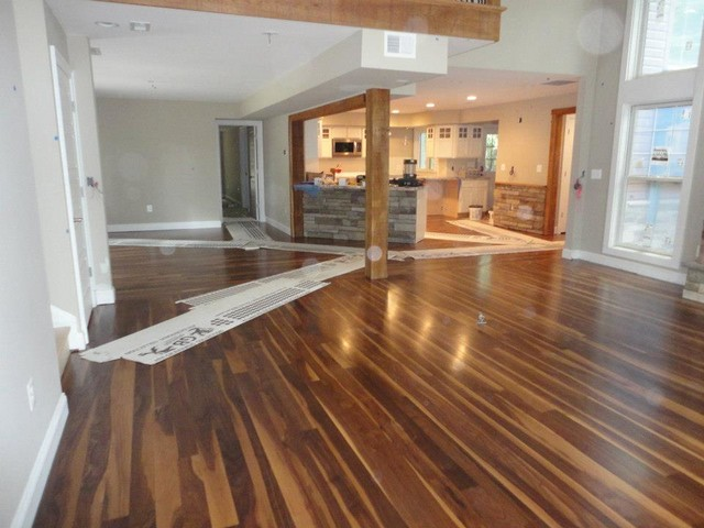 Walnut Flooring contemporary