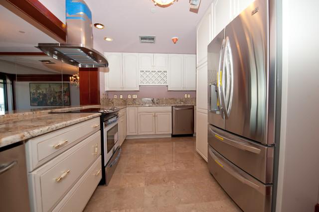 Condo Remodel traditional-kitchen