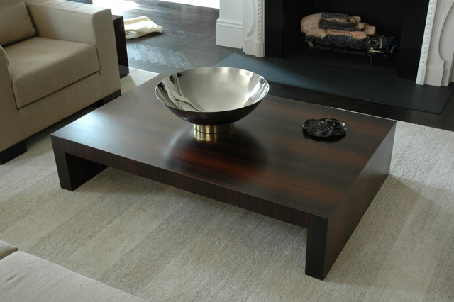 Rosewood Coffee Table modern-coffee-tables