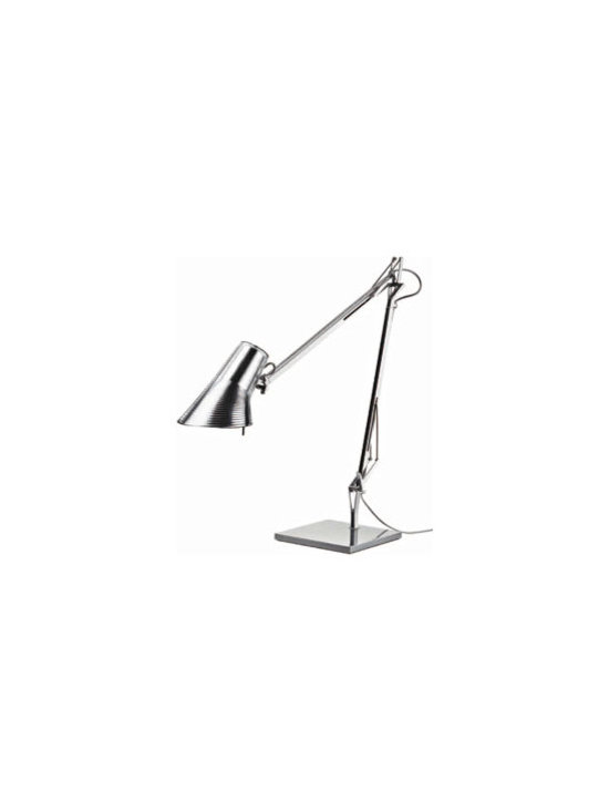 Kelvin Table Lamp By Flos Lighting - Kelvin by Flos is a new family of floor, table, and wall lighting fixtures, realized with refined high tech materials suitable for both office and home solutions.