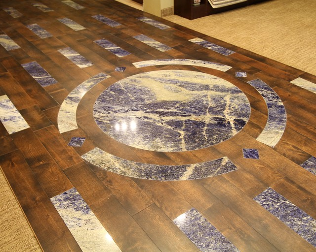 Floor Medallion Contemporary Cleveland By