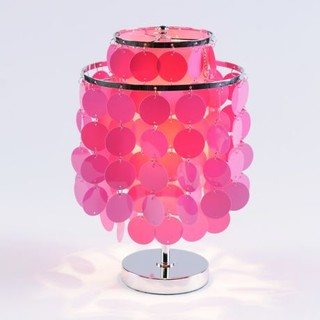 Groovy Discs Accent Lamp Contemporary Table Lamps By