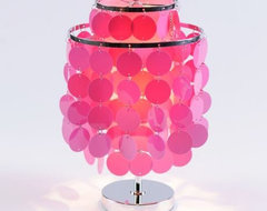 Groovy Discs Accent Lamp contemporary-table-lamps