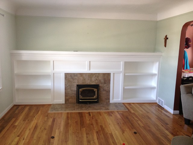 Dearborn Michigan Fireplace Remodel - Traditional - detroit - by PARKO HOME RENOVATIONS