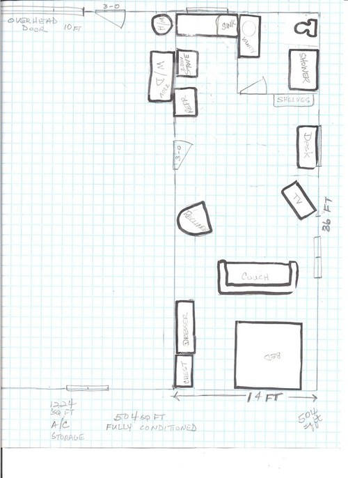 Looking for barn shop with living quarters for 40x60 shop plans with living quarters