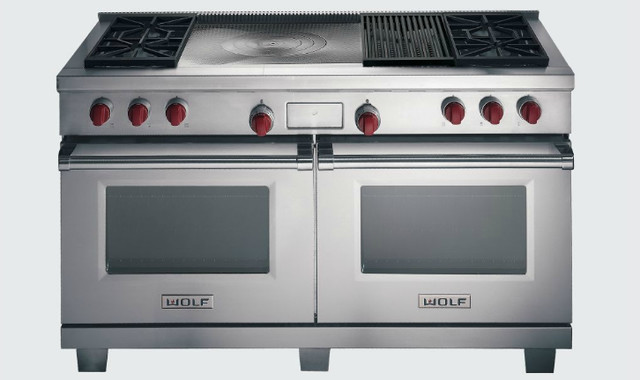 "60"" Wolf Dual Fuel Range contemporary-gas-ranges-and-electric-ranges"