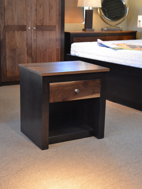 Woodward Night Stand - Bedroom Furniture - Solid Wood Furniture - Hand Crafted - Kevin