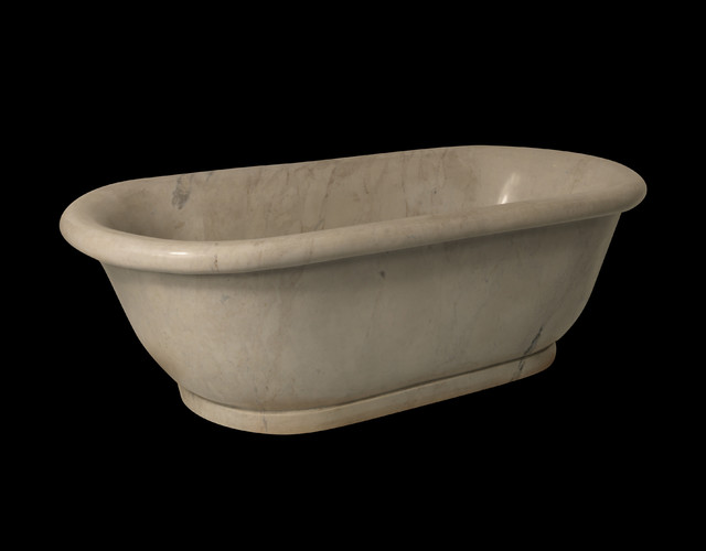 Marble Bath traditional-bathtubs