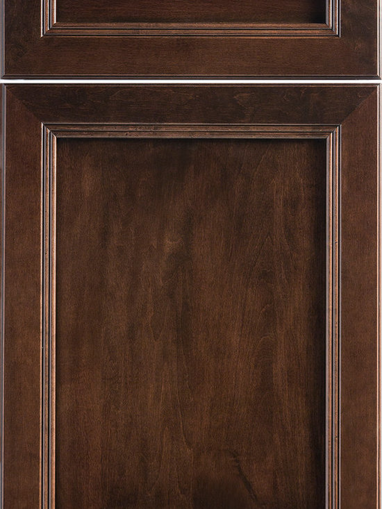 """Dura Supreme Cabinetry - Dura Supreme Cabinetry Marquis Panel Cabinet Door Style - Dura Supreme Cabinetry """"Marquis Panel"""" cabinet door style in Cherry shown with Dura Supreme's """"Wild Cherry"""" stained finish."""