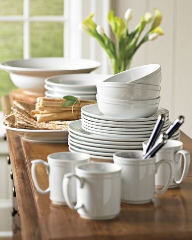 Williams-Sonoma Pantry Dinnerware modern dinnerware