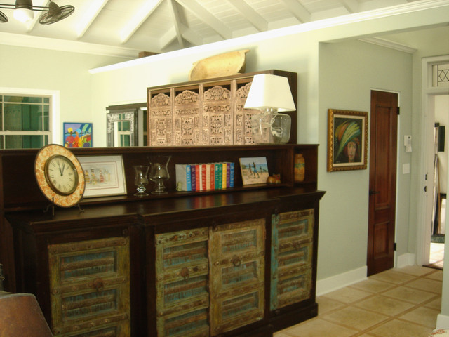 Interior Design, South Shore St Croix, USVI, Caribbean tropical living room