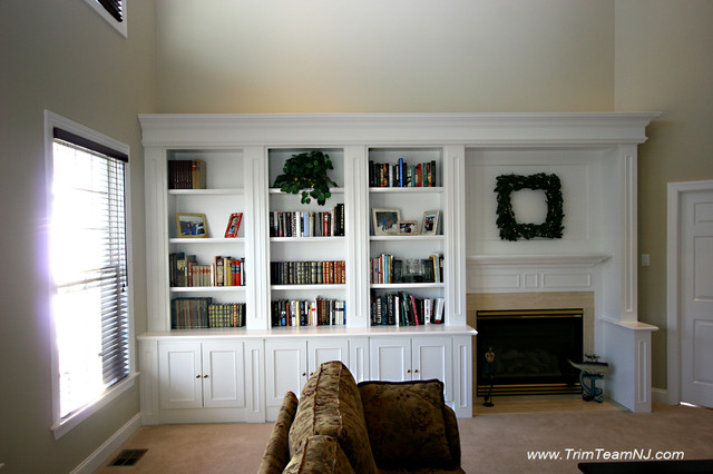 Galeria Bookcases, Wall Unith, Built-Ins, Shelving - Traditional - Dining Room - by Trim Team NJ