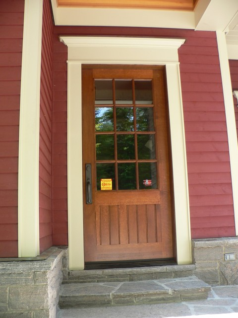 Custom doors craftsman front doors toronto by muskoka custom carpentry ltd - Custom cabinet doors toronto ...