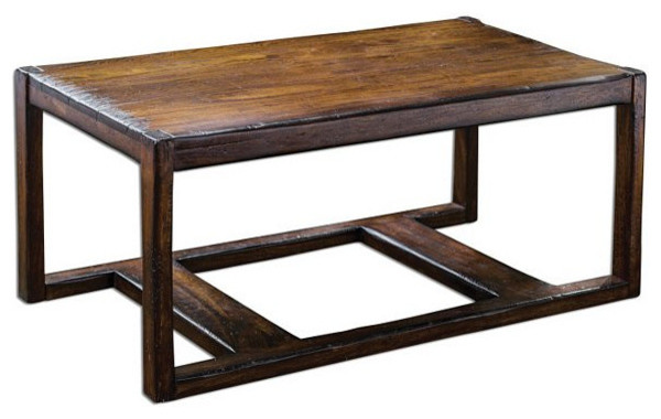 Uttermost Deni Wooden Coffee Table - 25605 transitional-home-decor