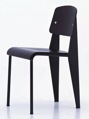 Prouve Standard Chair by Jean Prouv� modern-chairs