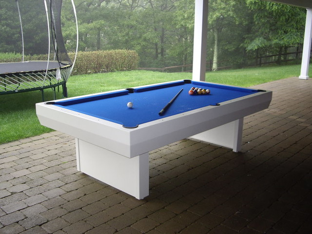 1000 Series Outdoor Pool Table Contemporary Patio