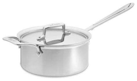 All-Clad d5 Stainless-Steel Saucepan modern-saucepans