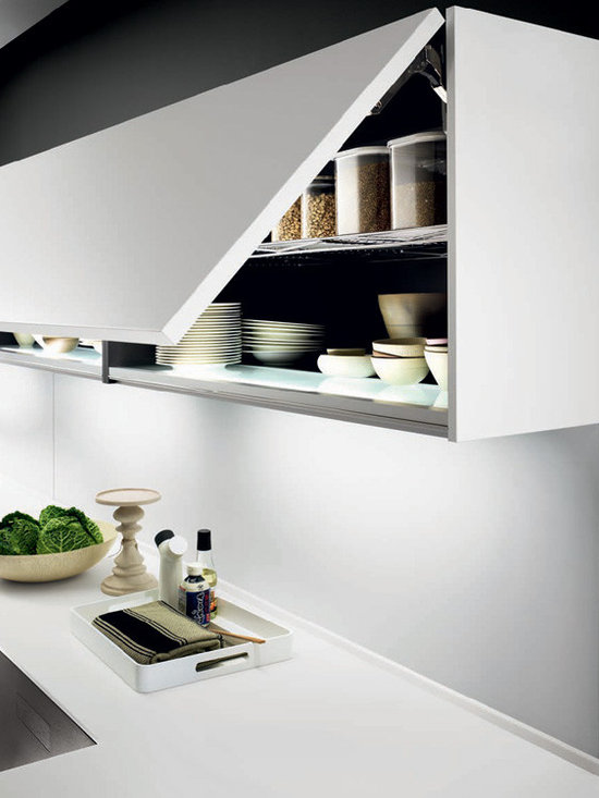 Italian Kitchen Cabinet Organization and Close-up Images - EVAA International