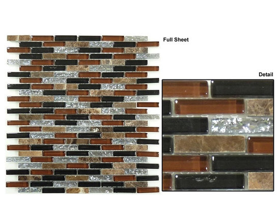 Mirage Jewel glass tile - Glazzio tile formely know as Mirage glass tile