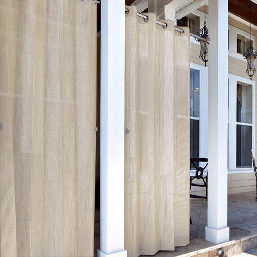 coolaroo exterior privacy curtains bord de mer rideaux other metro par. Black Bedroom Furniture Sets. Home Design Ideas