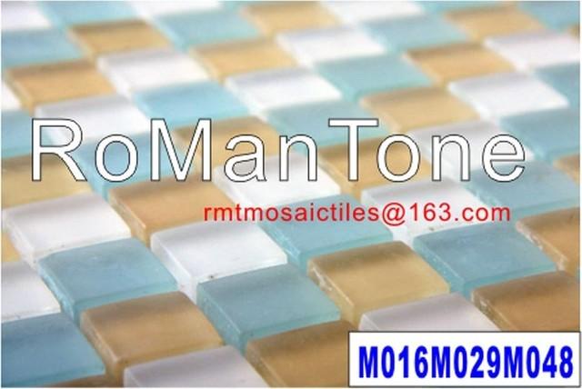 Glass mosaic tiles 23x23x8 tile