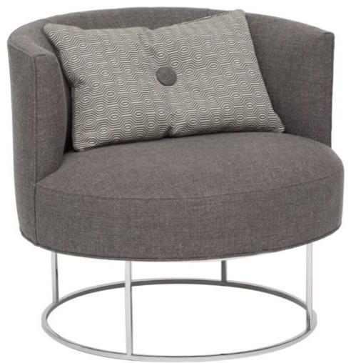 Roxy Swivel Chair - modern - chairs - by High Fashion Home