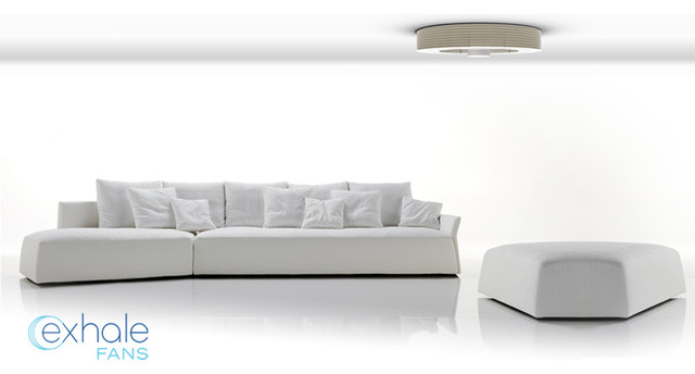 Exhale Fans - First truly bladeless ceiling fan. modern